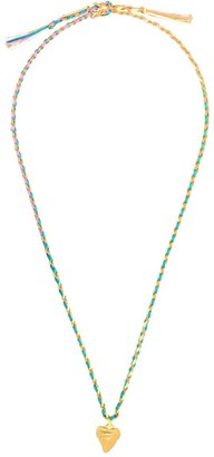 Venessa Arizaga Rainbow Cali braided necklace