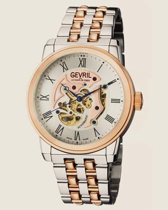 Gevril 2693 Two-Tone Vanderbilt Watch