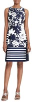 Lauren Ralph Lauren Mixed-Print Dress