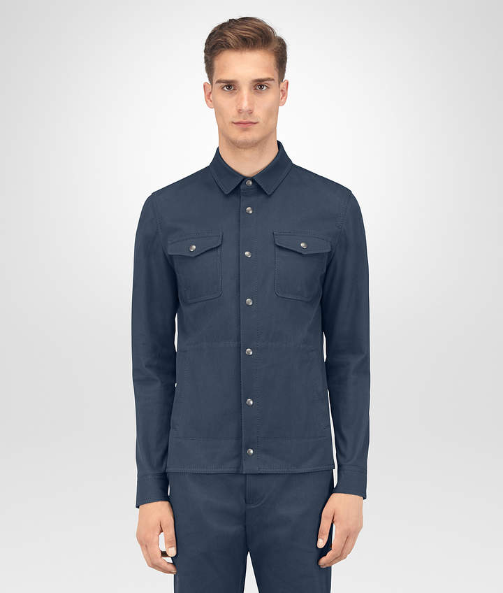 Bottega Veneta DENIM COTTON JACKET