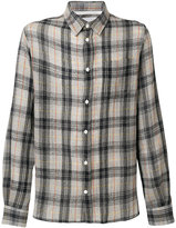 Norse Projects Hans loose weave gauze shirt