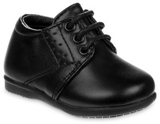 Josmo No Tie Lace Up Detailed Dress Shoes (Little Boys & Big Boys)