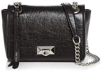 Jimmy Choo Helia Medium Leather Shoulder Bag