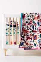 Anthropologie Festive Folklore Toddler Quilt