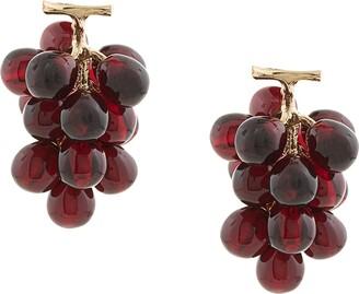 E.m. Grape Earrings