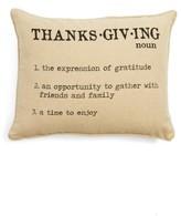 Levtex Thanksgiving Definition Accent Pillow