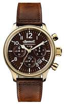 Ingersoll Men's The Apsley Quartz Watch with Brown Dial and Brown Leather Strap I03802
