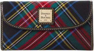 Dooney & Bourke Blakely Tartan Continental Clutch