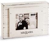 Mud Pie Wedding Collection Mr. & Mrs. 3 x 4 Block Frame