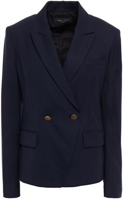 Rag & Bone Double-breasted Wool-blend Twill Blazer