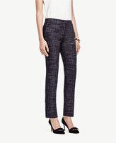 Ann Taylor Petite Crosshatch Tweed Ankle Pants