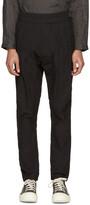 Niløs Black Drop Crotch Trousers