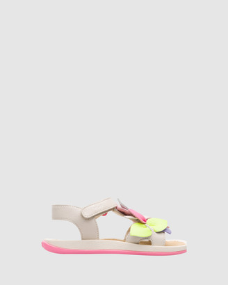Camper Twin Floral Youth Sandals