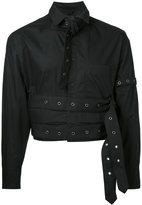 Craig Green cropped eyelet studded shirt - men - Cotton - S