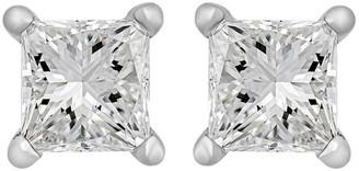 Heritage 14K 0.50 Ct. Tw. Diamond Princess Studs