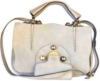 Fendi Grey Suede Handbags