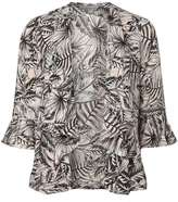 Dorothy Perkins Petite Pink Palm Cover Up