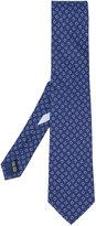 Salvatore Ferragamo anchor print tie - men - Silk - One Size