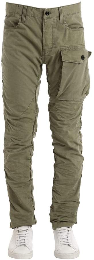 G Star G-Star Tendric 3d Tapered Cotton Cargo Pants
