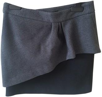 Maje Fall Winter 2019 Anthracite Skirt for Women