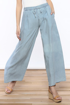 Mustard Seed Wide Leg Denim Pants