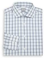 Ike Behar Regular-Fit Cotton Long Sleeve Dress Shirt