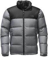 The North Face Men's Nuptse Jacket (Sizes S - XL) - gray heather/black, m