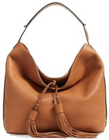 Rebecca Minkoff 'Isobel' Tassel Leather Hobo - Brown
