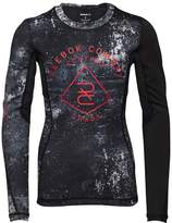 Reebok Womens The Noble Fight Speedwick Long Sleeve Rash Guard Black