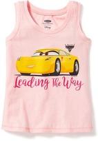 "Old Navy Disney/Pixar© Cars 3 ""Leading the Way"" Tank for Toddler Girls"