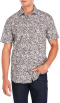 Bogosse Printed Short Sleeve Sport Shirt