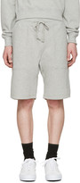 Noah NYC Grey Solid Lounge Shorts