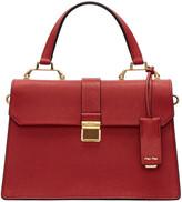 Miu Miu Red Large Top Handle Bag