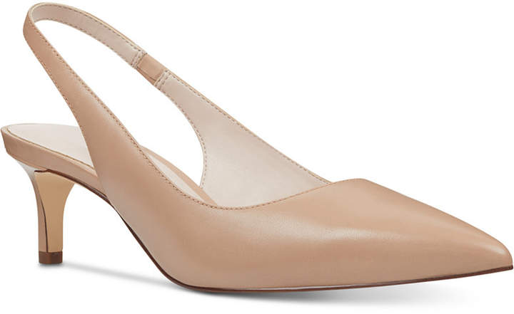 fb11d0688a Nude Kitten Heel Shoes - ShopStyle