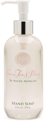 Niven Morgan Green Tea & Peony Hand Soap, 9.5 oz.