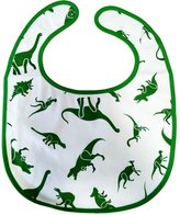 LittleForBig ABDLd Bib Dinosaurs Pattern