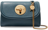 See by Chloe Lois Mini Leather Shoulder Bag - Blue