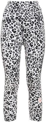 adidas by Stella McCartney Printed Truepur Tech 3/4 Leggings