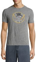 John Varvatos Top Hat Skull Graphic T-Shirt, Gray