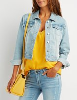 Charlotte Russe Refuge Denim Jacket