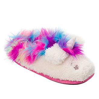 Dearfoams Girls Whimsical Clog Slipper