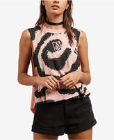 Volcom Juniors' Magnetic Feels Graphic Tank Top