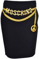 Moschino Trompe-l`oeil Pleated Skirt