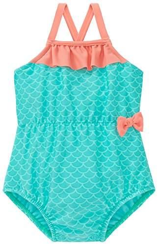 Schiesser Baby Girls' Seepferdchen Selina Badeanzug Swimsuit
