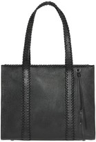 Mackage Sela Leather Tote Bag In Black