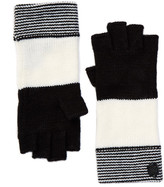 Vince Camuto Variegated Striped Fingerless Gloves