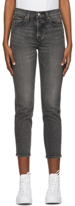 Levi's Levis Grey Wedgie Fit Ankle Jeans