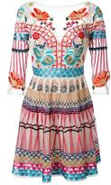 Temperley London mini Aura dress - women - Silk/Nylon/Spandex/Elastane - 12