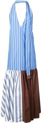 Tibi Vivian striped top