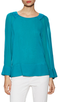 Plenty by Tracy Reese Peasant Scoopneck Blouse